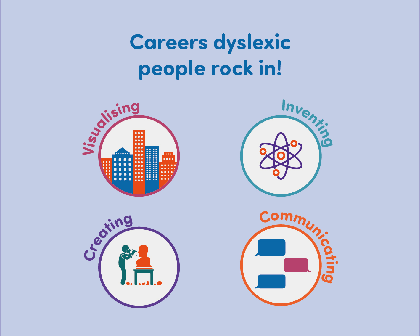 Careers Dyslexic People Rock In Dyslexia Unwrapped